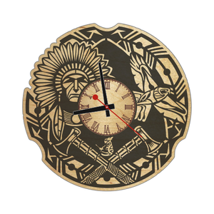 Часы настенные «Индеец»
