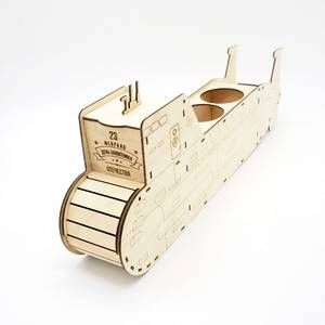 Упаковка для подарка «Подводная лодка»