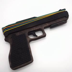 Пистолет резинкострел