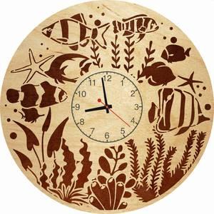 Часы настенные «Подводный мир»