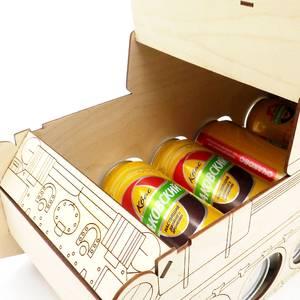 Упаковка для подарка «Танк»