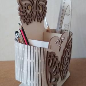 Карандашница сова