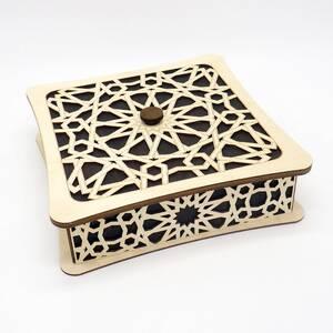 Коробка на 7 отсеков в восточном стиле