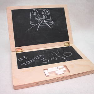 Меловой ноутбук