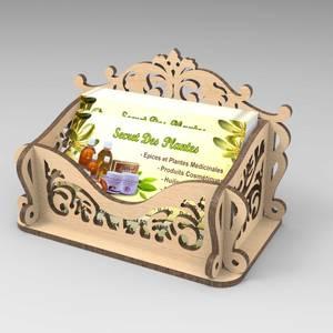 Подставка для визиток v4