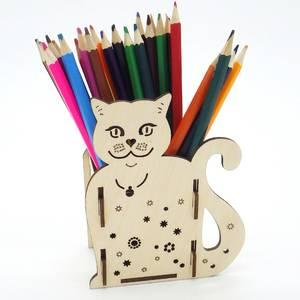 Карандашница кошка