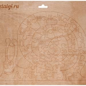 Пазл Улитка с алфавитом