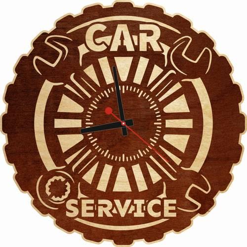 Часы настенные «Автосервис»