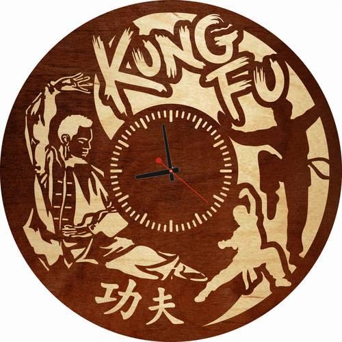 Часы настенные «Kung Fu»