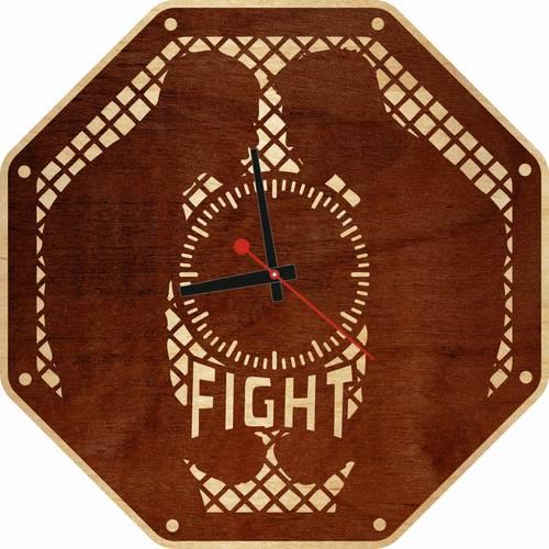 Часы настенные «Fight»