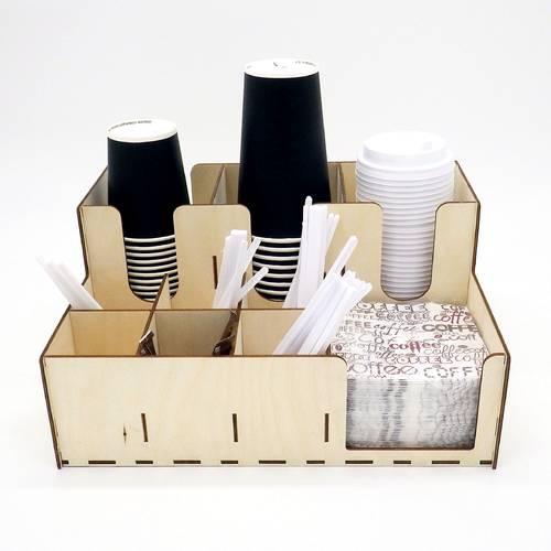 Стойка для стаканов кофе