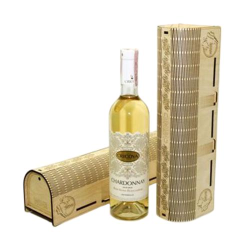 Красивая упаковка для вина