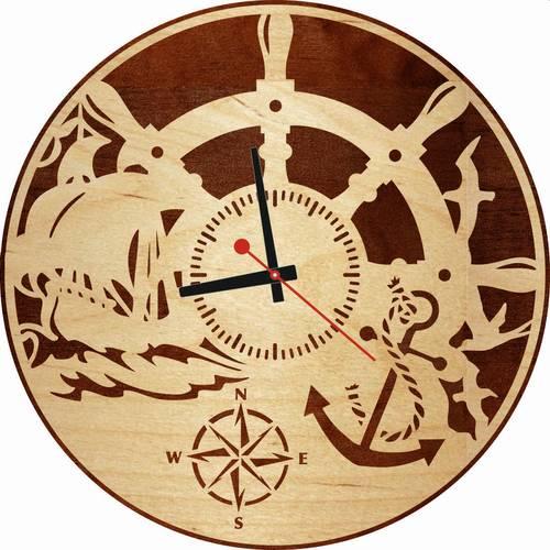 Часы настенные «Море»