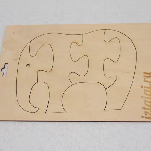 Пазл Слон
