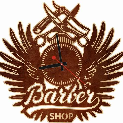 Часы настенные «Барбер»